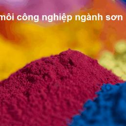dung môi công nghiệp ngành sơn